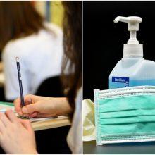 Aktualu mokiniams: egzaminų perlaikyme – privalomos kaukės