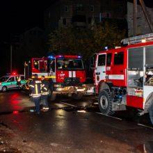 Tragedija Kauno daugiabutyje: ištrūkti iš gaisro pavyko tik tėvui, neįgalus jo sūnus žuvo