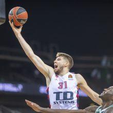 Šaltiniai: NBA pasiūlymą atmetęs R. Giedraitis lieka Vitorijoje