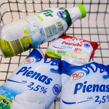 Tyrimas: dauguma lietuvių pieno produktus vartoja kasdien – ką ir už kiek perka?
