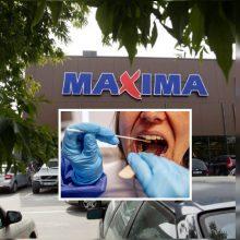 """""""Maximos"""" darbuotojai Vaišvydavoje diagnozuotas koronavirusas"""