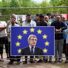 EP vadovas: Baltarusijos siekis sukelti migracijos krizę Baltijos šalyse – pamoka ES