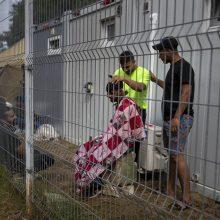 Migrantai iš Rūdninkų poligono bus perkelti į uždarymui ruošiamus Kybartų pataisos namus