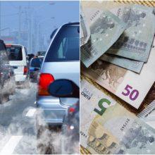 Ar siūlomi mokesčiai paskatins atsisakyti taršių automobilių?