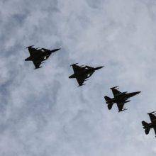 NATO naikintuvams praėjusią savaitę neteko nė karto lydėti virš Baltijos jūros skridusių orlaivių