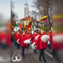 Stebėkite tiesiogiai: Vasario 16-ąją kauniečiai suvienijo šešis Lietuvos orkestrus