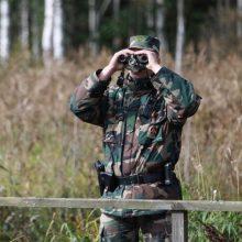 Ministerija: Estija padės Lietuvai tiesti fizinį barjerą pasienyje su Baltarusija