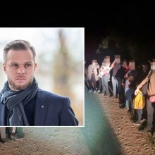 G. Landsbergis dėl iš Baltarusijos plūstančių migrantų sukeltos krizės atšaukia savo atostogas