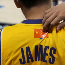 NBA viešnagės Kinijoje užkulisiai: ar laisvai reikšti mintis turi teisę visi?