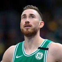 """""""Celtics"""" NBA Rytų konferencijos finale turėtų sulaukti vieno iš lyderių pagalbos"""
