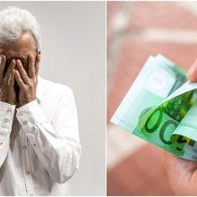 Palangiškis pasigedo 14,3 tūkst. eurų santaupų: kol kas klausimų daugiau nei atsakymų