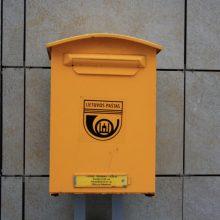 Mamos dienoraštis: ką šneka pašto dėžutė, arba Pirmadienis – bloga diena