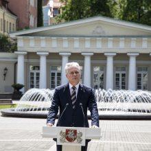 Prezidentūroje – grėsmė dėl COVID-19: saviizoliacijoje ir G. Nausėda