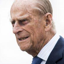 Princas Philipas perkeltas į kitą ligoninę