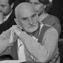 Mirė architektas, buvęs VDA rektorius prof. V. Brėdikis