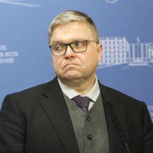 V. Vasiliauskas: išaugus valstybės skolai, įvairios rinkos gali reaguoti jautriai