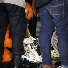 Indonezijoje rastos keleivinio lėktuvo nuolaužos