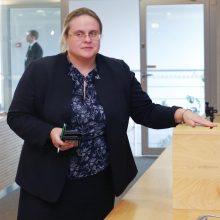 A. Širinskienė: parlamentarų algos greičiausiai didinamos nebus
