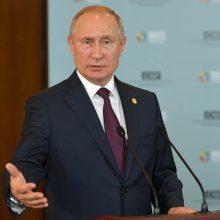 V. Putinas: po kelerių metų ES šalys Rytų Europoje gali panorėti išstoti iš Bendrijos