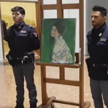 Italijoje atsirado prieš 22 metus pavogtas G. Klimto paveikslas