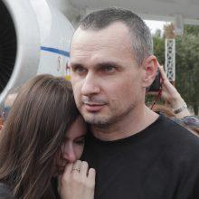 Ukrainos režisierius: kaip galima kovoti tarpusavyje, kai yra V. Putinas?