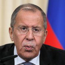 Rusijos užsienio reikalų ministras: karas Sirijoje baigėsi