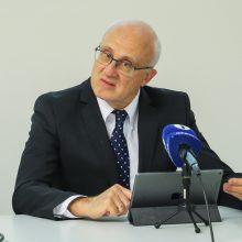Seime – S. Jakeliūno siūlymas lėčiau didinti NPD