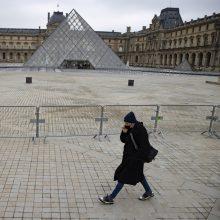 Paryžiaus Luvras 2020 metais sulaukė 72 proc. mažiau lankytojų