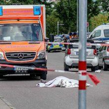 Nelaimė Vokietijoje: kardu nudurtas vyras