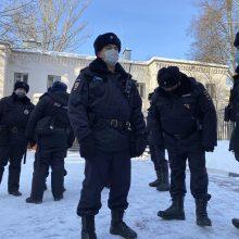 Maskvos policija žada malšinti savaitgalį planuojamus opozicijos protestus