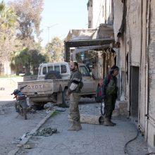 Turkija ragina nustatyti virš Sirijos Idlibo neskraidymo zoną