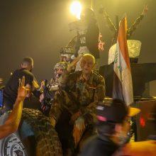 Neramumai Irake: sostinėje nušauti keturi protestuotojai