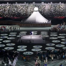 Tokijo olimpinėse žaidynėse – 16 naujų COVID-19 atvejų