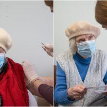 Sostinėje paskiepyta beveik trečdalis vyresnių nei 80 metų vilniečių, pradėta vakcinacija ir namuose