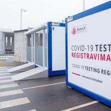 Atlikti COVID-19 testą Vilniaus oro uoste jau užsiregistravo daugiau nei 200 žmonių