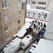 Tragedija Permės svečių namuose: sprogus karšto vandens vamzdžiui žuvo penki žmonės