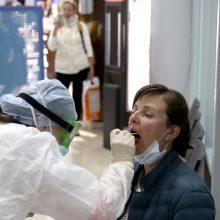 Baltarusijoje – 158 nauji COVID-19 atvejai, mirė penki užsikrėtusieji