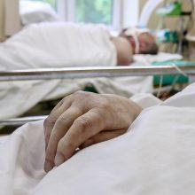 Ligoninėse dėl koronaviruso gydoma vienuolika žmonių