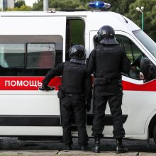 Minsko centre 35 metų vyras bandė susideginti: jis išvežtas į ligoninę