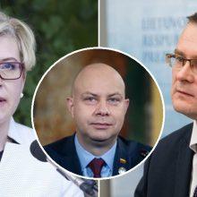 Premjerė ir ministras neigia A. Verygos pasisakymus: ir šiandien jaučiame padarytą žalą Vyriausybei