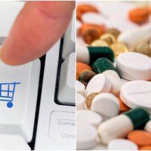 Du kartus išaugo internetu įsigyjamų nereceptinių vaistų kiekis