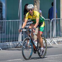 Nesėkmingas dviratininko E. Šiškevičiaus debiutas Tokijuje: pasitraukė iš varžybų