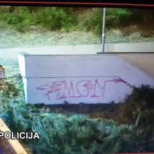 Vilnius sienų terliotojų netoleruos ‒ atsakomybėn bus patraukti visi pažeidėjai