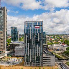 Vilniaus savivaldybė savo pastate ketina suteikti erdves baltarusių žiniasklaidai, verslui