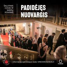 Vilnius pristato reklaminę kampaniją: šalutinis vakcinos poveikis – grįžimas į įprastą gyvenimą