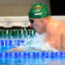 Liuksemburge vykstančiose plaukimo varžybose – pirmas G. Titenio medalis