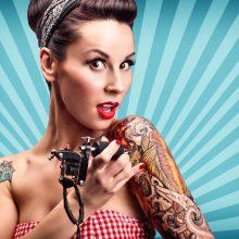 Tik kokybiškai ir saugiai atliktos tatuiruotės puošia kūną