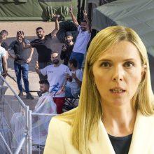 A. Bilotaitė: iki metų pabaigos Lietuva gali sulaukti 10 tūkst. neteisėtų migrantų