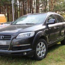 """Vagys nuvarė kauniečio """"Audi"""" – nuostolis siekia 30 tūkst. eurų"""