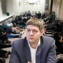 A. Mazuronis: mūsų žmonių teisės daug svarbesnės už migrantų teises